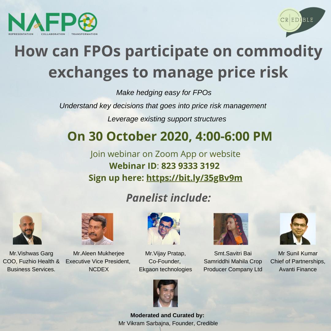 NAFPO Webinar on Hedging